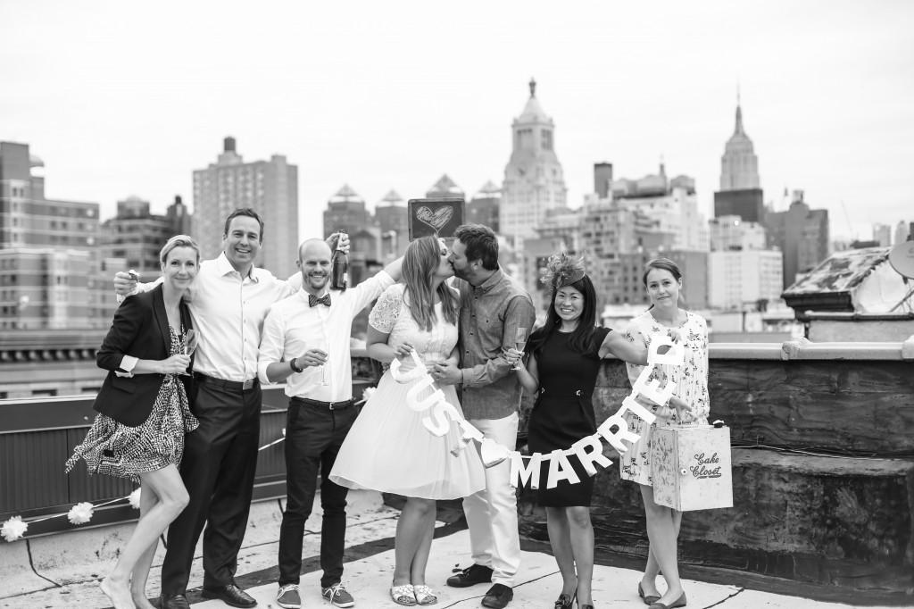 Bröllop i New York